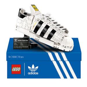 10282 LEGO Icons adidas Originals Superstar Trainer Collectors Set 731 Pieces