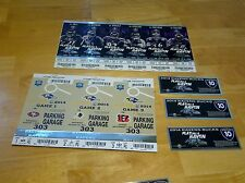 Baltimore Ravens 2014 Season Tickets for 2 (Sec 500 Row 32) Parking/Raven Bucks