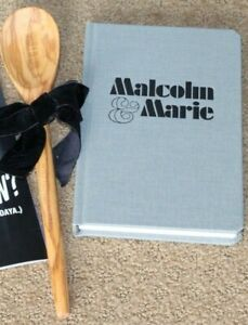 MALCOLM & MARIE MOVIE FYC SCRIPT SCREENPLAY~ BOOK FOR YOUR CONSIDERATION SPOON