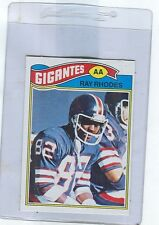 1977 Topps Mexican # 98  RAY RHODES  Giants  Tulsa Rookie   ngs