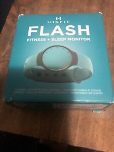 Misfit Flash Fitness + Sleep Monitor, Reef Teal, 2 Sport Bands, 2 Clasps