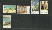Australia Sc#573-4, 577-9 M/Nh/Vf, 5 Of 7 Highest Values, Cv. $39.75