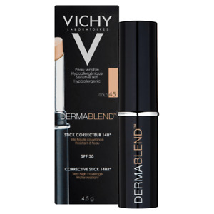 Vichy DermaBlend Stick Correcteur 14H Very High Coverage 4.5g Brand New Sealed