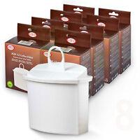 8x Wasserfilter mit Brita KWF2 kompatibel, für Braun Kaffeemaschinen (45,00€/1St