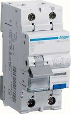 Hager FI/LS-Schalter 1P+N 6kA B-16A 10mA ACS916D