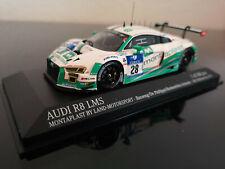 Audi R8 LMS #28 Land Montaplast 24 H Nürburgring 2016 1:43 Minichamps