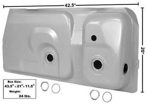 1983-87 Ford Mustang Gas Tank - 15.4 Gallon & 2 Gauge Hole w/Pan Inside New