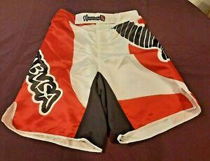 """Hayabusa MMA Chikara shorts Kickboxing BJJ Training Boxing Jiu Jitsu 34""""-35"""" XL"""