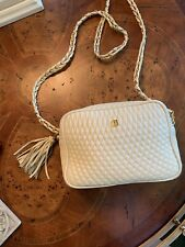 Bally Cross Body Bag Quilted Beige