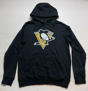 Fanatics NHL Pittsburg Penguins Mens Small Hoodie Long Sleeve Black