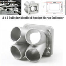 4-1 4 Cylinder Manifold Header Merge Collector Stainless Steel T3/T4 Turbo Inlet