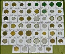 53 Different Idaho Trade Tokens, US Trade Tokens, Lot of 53