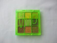 W7 Vivid Fluorescent & Fabulous Pressed Pigments Eyeshadow Palette Glowin Green