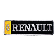 Renault French racing Sports Car Jacket Cap Shirt Emble Logo Badge Iron on patch