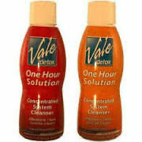 Vale One Hour Solution  Detox 16 oz  Tropical Punch / orange