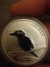 Australia - Kookaburra 2007 - 1 OZ Silver Argento 999 fdc