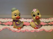 Vintage Lefton Ceramic Salt and Pepper, Ducks