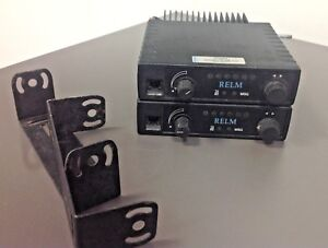 2 RELM SLV 40W SLV 40, Radios with Mounts, HAM, TESTED WORKING