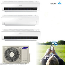 CLIMATIZZATORE TRIAL SPLIT SAMSUNG INVERTER AR6000M SMART WIFI 9+9+9 AJ052FCJ3