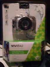 NIB Vivitar DVR783HD High Definition Digital Helmet Bicycle Camera Waterproof