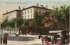 Van Ness House in Burlington VT Postcard 1909