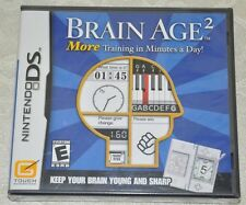 Brain Age 2: More Training in Minutes a Day (Nintendo DS, 2007) Brand New