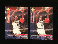 Shaquille O'neal 94 Upper Deck Usa 52 Base And Gold Metal