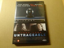 DVD / UNTRACEABLE ( DIANE LANE... )