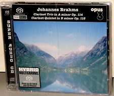 OPUS 3 SACD 22021: Brahms - Clarinet Trio / Quintet - Fageus - 2005 GERMANY SS