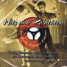 Hits und Raritäten CD NEU Angèle Durand Curd Jürgens Jimmy Makulis Freddy Brock