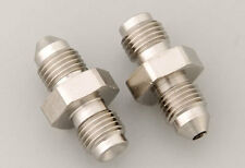 """Russell 643961 Brake Adapter Fitting -3 AN Male-3/8-24"""" IF Male Straight Harley"""