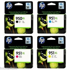 4 x HP CARTUCCE OEM N. 950XL B & 951XL, C, m&y PER OFFICEJET PRO 8600E, 8600