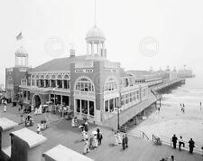 Atlantic City Steel Pier, 1910s New Jersey Shore Art Print Vintage Photo Poster