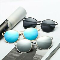 Unisex Women Men Vintage Sunglasses Retro Fashion Aviator Mirror Lens Glasses