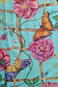 """Rose Trellis Standard House Flag by Toland 24"""" x 36"""", Colorfast! #862"""