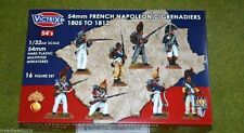 Victrix FRENCH NAPOLEONIC GRENADIERS 1805 to 1812  1/32 or 54mm VX5402