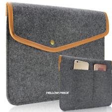 "Wool Felt Sleeve Case For Apple Mac Air MacBook Pro 11"" / 12"" Laptop Cover Bag"
