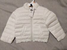 $125 RALPH LAUREN white puffer 2/2T baby girl down jacket, NWT