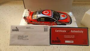 1:18 FORD BF FALCON 2008 TEAM VODAFONE CRAIG LOWNDES 888 - CLASSIC CARLECTABLES