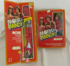Vintage Mork and Mindy. Mork (Robin Williams) Pull String Spacepack + Mindy