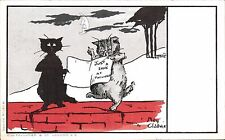 Cats by May Gladwin. Just a Song at Twilight # B in Faulkner Series 180.