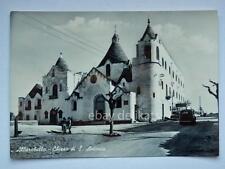 ALBEROBELLO Chiesa S. Antonio Bari vecchia cartolina