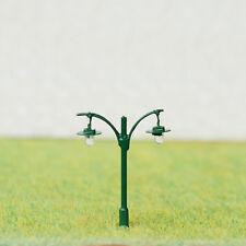 5 x N Scale Led light Model train Railroad street Lamp post + resistors #511NBG