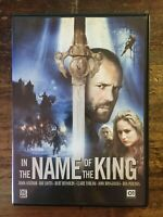 IN THE NAME OF THE KING - JASON STATHAM BURT REYNOLDS CLAIRE FORLANI - DVD
