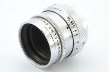 *Rare* Zunow-ELMO 13mm f/1.1 for D Mount cine lens 3108