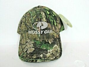 Mossy Oak Embroidered Logo Adjustable Camouflage Baseball Cap - NEW WITH TAGS
