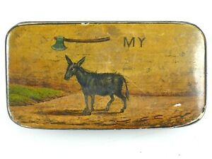 Interesting Antique Snuff Box with Donkey         |70