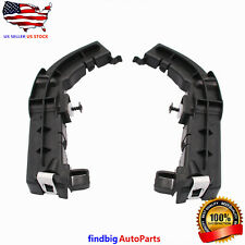 Pair Front Left & Right Bumper Support Brackets For Dodge Challenger 2008-2020