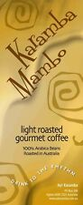 1KG LIGHT ROASTED GOURMET COFFEE BEANS - KARAMBA MAMBO