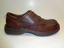 Born Size 8.5 M SIERRA II Brown Mahogany Grain Leather Oxfords New Mens Shoes